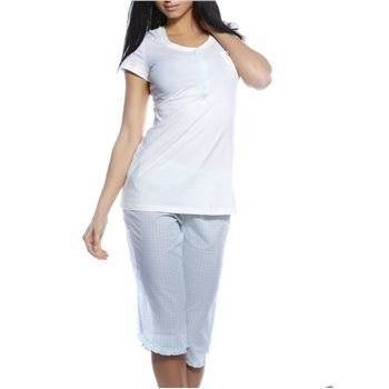 Esprit Vichy Pyjamas Set Light Mint