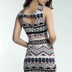 Etna värikäs mekko