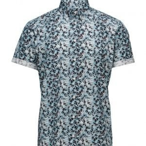 Eton Brighton-Collection-Slim Fit lyhythihainen paita