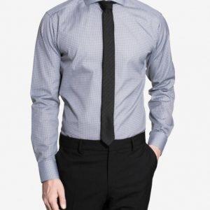 Eton Brighton Poplin Slim Shirt Kauluspaita Blue