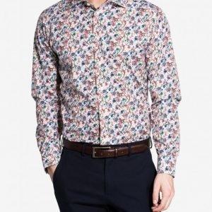 Eton Brighton Poplin Slim Shirt Kauluspaita Kuviollinen