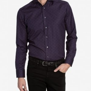 Eton Brighton Poplin Slim Shirt Kauluspaita Red