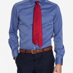 Eton Cambridge Twill Shirt Kauluspaita Blue