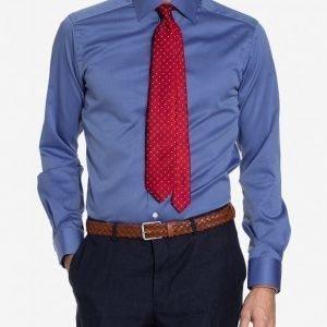 Eton Cambridge Twill Shirt Kauluspaita Blue