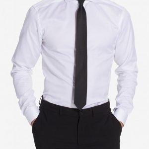 Eton Cambridge Twill Super Slim Shirt Kauluspaita White