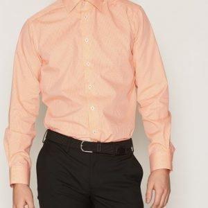 Eton Eton Poplin Shirt Kauluspaita Keltainen/oranssi