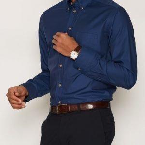 Eton Eton Poplin Shirt Kauluspaita Sininen