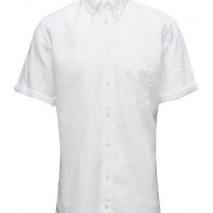 Eton Hoxton-Green-Slim Fit lyhythihainen paita
