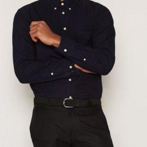 Eton Indigo Shirt Kauluspaita Sininen