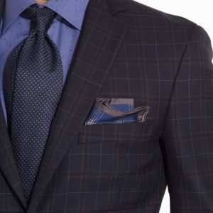 Eton Pocket Square Taskuliina Blue