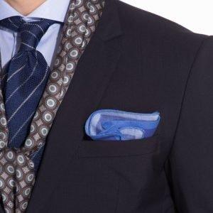 Eton Pocket Square Taskuliina Blue