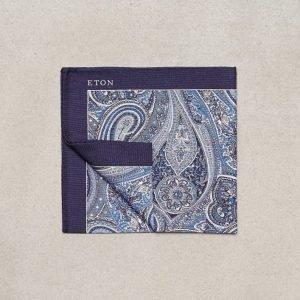 Eton Pocket Square Taskuliina Harmaa