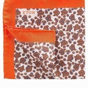 Eton Pocket Square Taskuliina Keltainen/oranssi