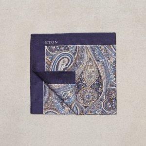 Eton Pocket Square Taskuliina Offwhite