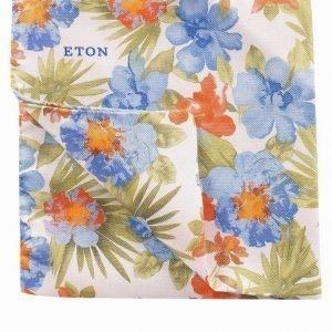 Eton Pocket Square Taskuliina Vihreä
