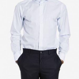 Eton Poplin Slim Fit Shirt Kauluspaita Sininen