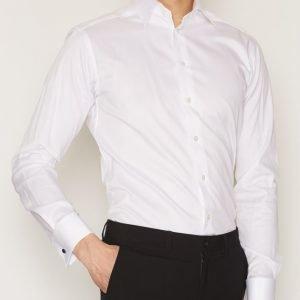 Eton Signature Twill Slim Shirt Kauluspaita White