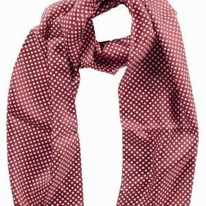 Eton Silk Scarf Kaulahuivi Punainen/vaaleanpunainen