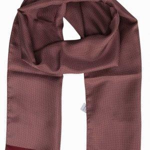 Eton Silk Scarf Kaulahuivi Vaaleanpunainen/Punainen