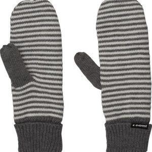 Everest Stripe Mitten Käsineet