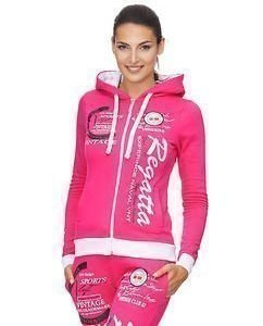 Experience Hoodie W Pink/White