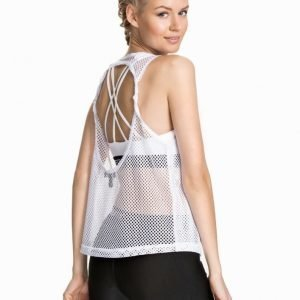 FASHIONABLEFIT FOR NLY SPORT Fashionable Mesh Singlet Silver