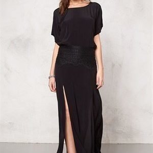 F.A.V Lily Lace Long Black 2
