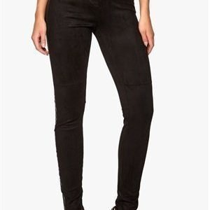 F.A.V Suede Pants Black 2