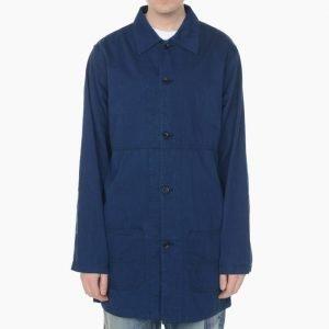 FDMTL Indigo Soutien Collar Coat