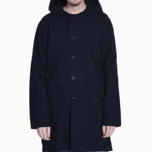 FDMTL Indigo Water Repellent Mods Coat