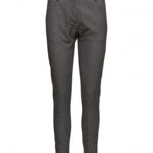 FIVEUNITS Angelie 359 Rib Grey Moral Pants skinny housut