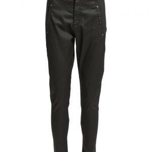 FIVEUNITS Jolie 274 Black Coated Jeans suorat housut