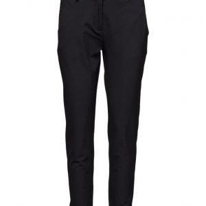FIVEUNITS Kylie 351 Crop Black Crepe Pants suorat housut