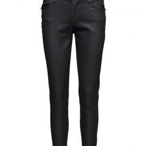 FIVEUNITS Penelope 374 Zip Black Coated Jeans skinny farkut