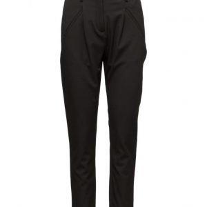 FIVEUNITS Sanna 315 Black Pants suorat housut