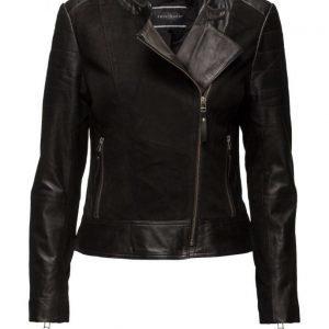 FREE|QUENT Leather-Ja nahkatakki