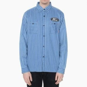 FUCT SSDD Striped Indigo Shirt