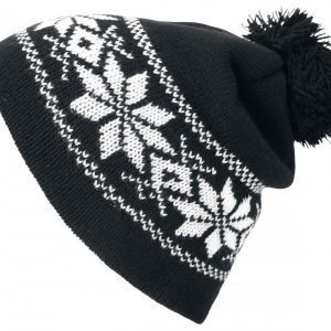 Fair Isle Knitted Hat Pipot