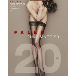 Falke Pure Matt 20 Den Stay Up Sukat