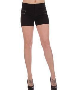 Fame Twill Shorts Black