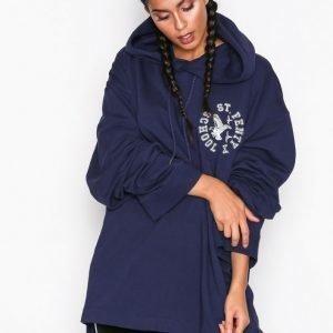 Fenty Puma By Rihanna Ls Back Lacing Hoodie Huppari Sininen
