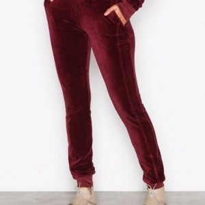 Fenty Puma By Rihanna Velour Fitted Track Pant Housut Winetasting
