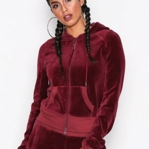 Fenty Puma By Rihanna Velour Fitted Zip-Up Track Jacket Takki Winetasting