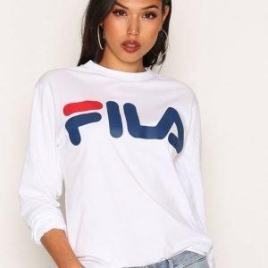 Fila Classic Logo Long Sleeve Svetari Bright White
