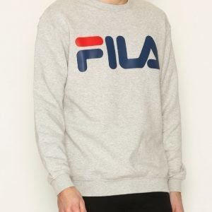 Fila Classic Logo Sweather Pusero Light Grey Melange