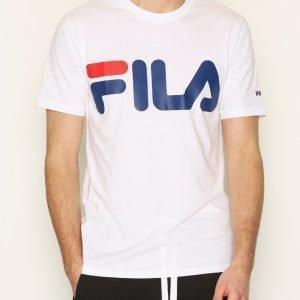 Fila Classic Logo T-Shirt T-paita Bright White