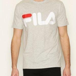 Fila Classic Logo T-Shirt T-paita Light Grey Melange
