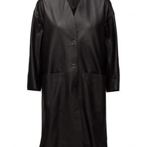 Filippa K Alicia Leather Coat päällystakki