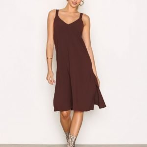 Filippa K Ami Slip Dress Loose Fit Mekko Fig