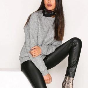 Filippa K Boyfriend Quilted Sweatshirt Svetari Grey